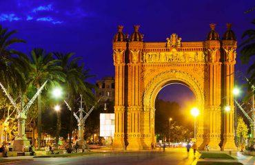 Arco di Trionfo - Scatto Notturno